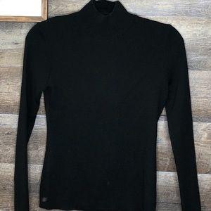 St John Merino Wool Turtleneck Sweater